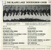 The Blaine Lake Doukhobor Choir