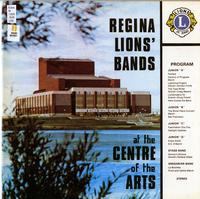 Regina Lions' Bands at the Centre of The Arts