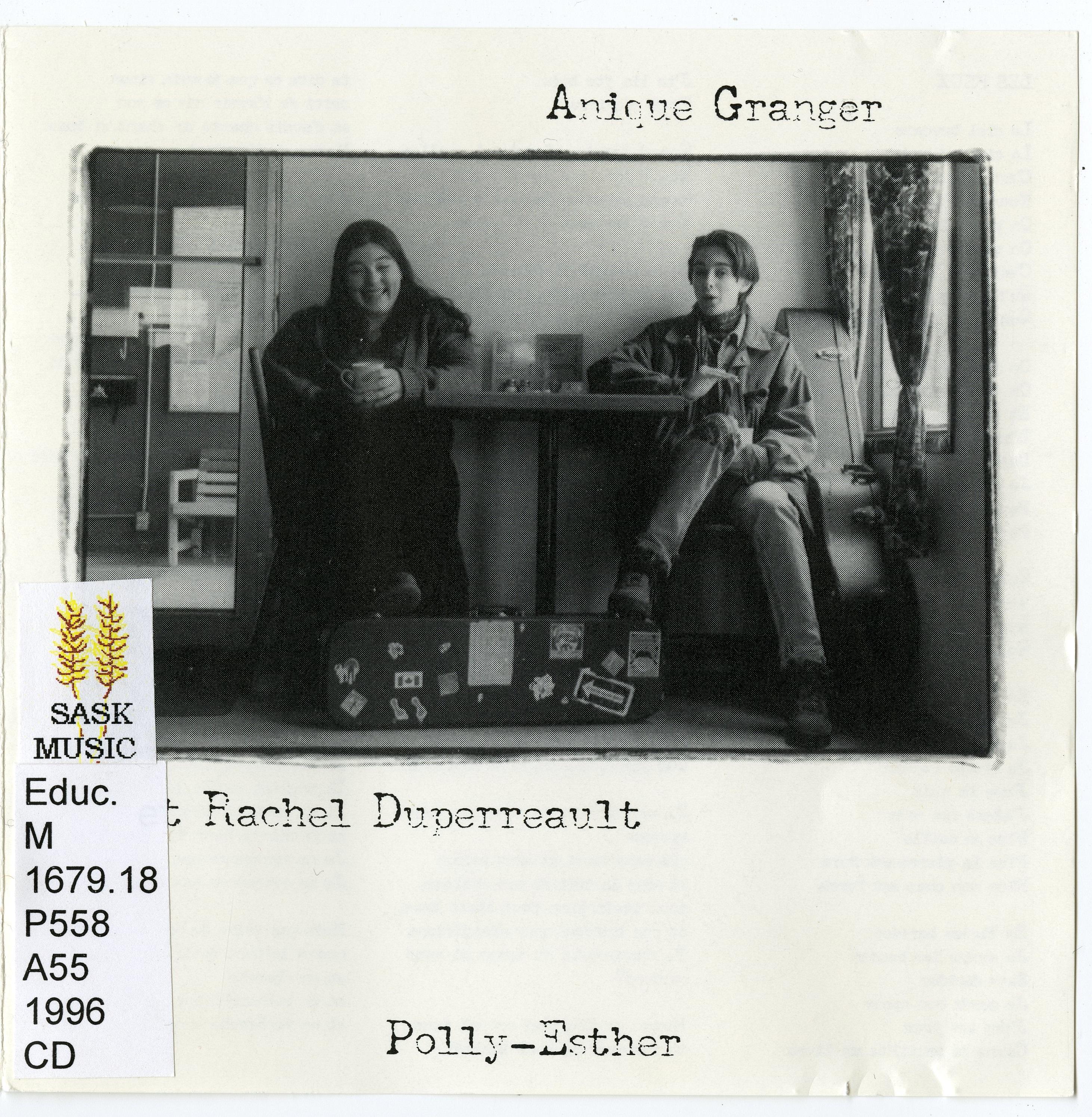 Anique Granger et Rachel Duperreault