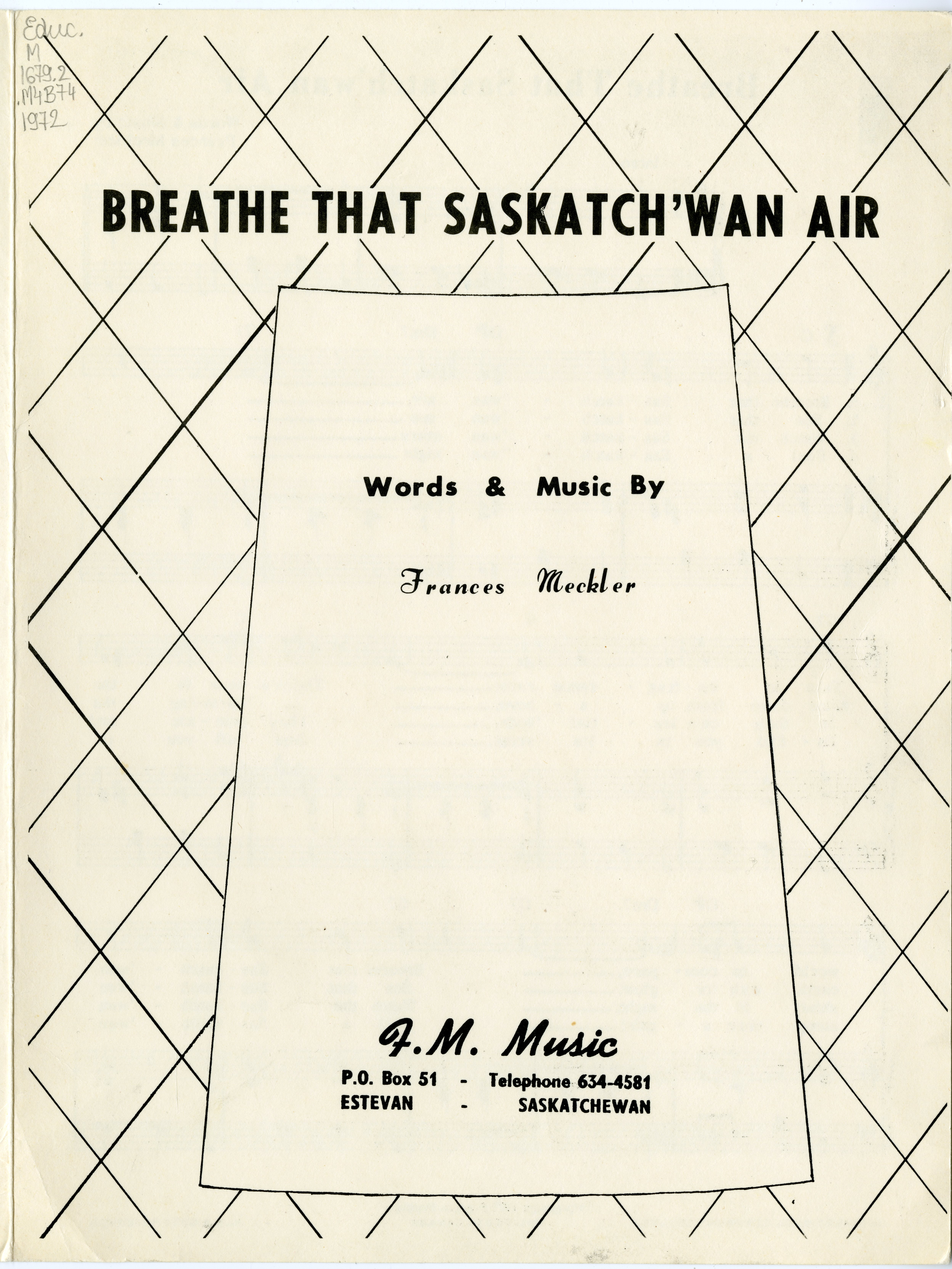Breathe that Saskatch'wan air