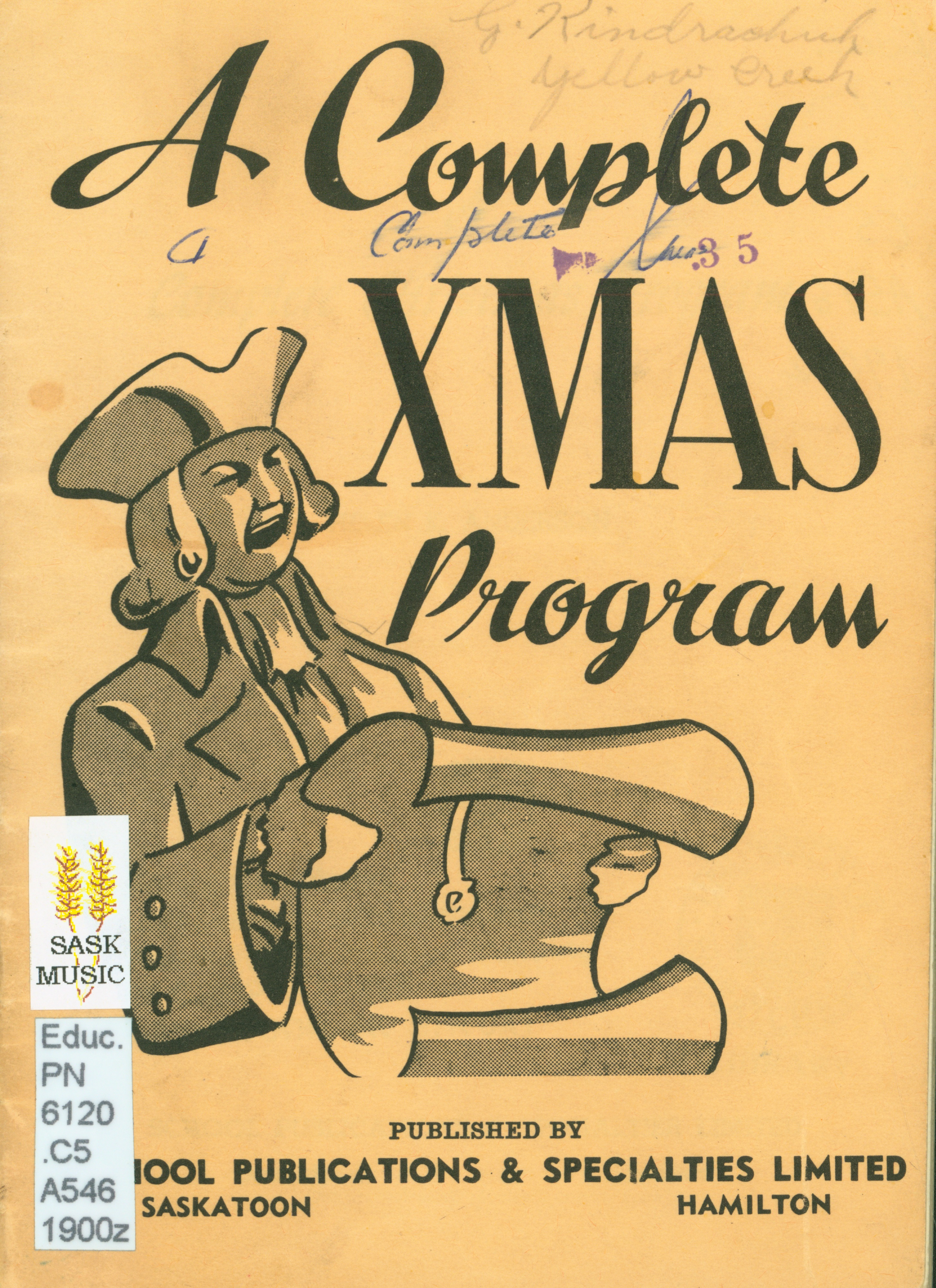 A complete Christmas program