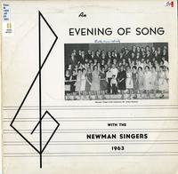An evening of song with the Newman Singers