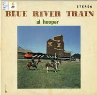 Blue river train