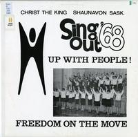Sing out '68 presents Up, up with people