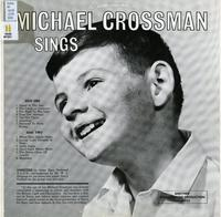 Michael Crossman sings