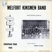 Melfort Kinsmen Band European tour, 1968
