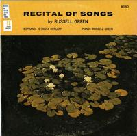 Recital of songs